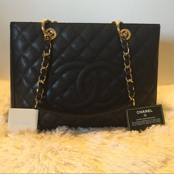 5cdf0c52c465 CHANEL Bags | Sale Authentic Grand Shopper Tote Gst | Poshmark